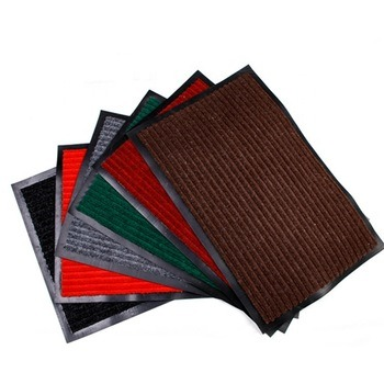 Wholesale China Manufacturer PVC Backing Double Ribbed Indoor/Outdoor Mat / Entrance Flooring Mat
