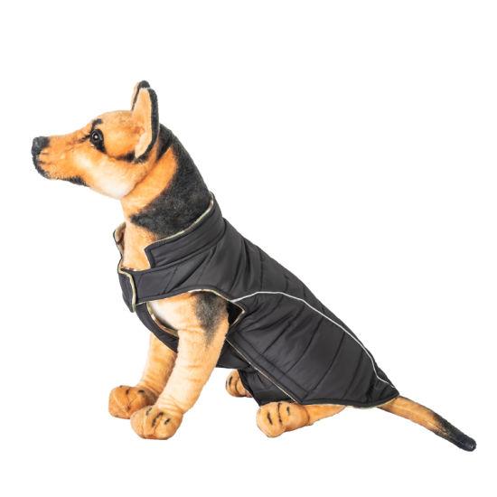 Winter Comfortable Thermal Fleece Double Side Dog Coat