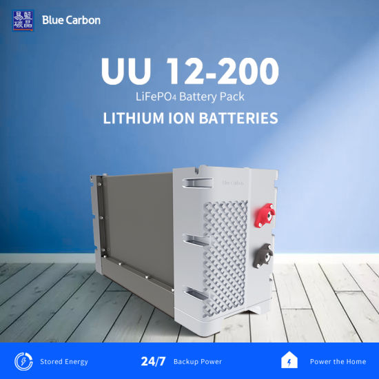 BMS Built-in 12V200ah Solar Lithium Battery Pack with Good Quality and Best Price
