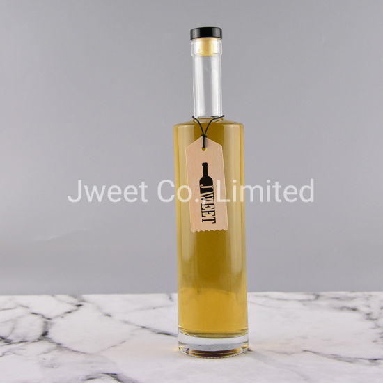 500ml Glass Beer Bottle with Cork Empty Sake Glass Bottle