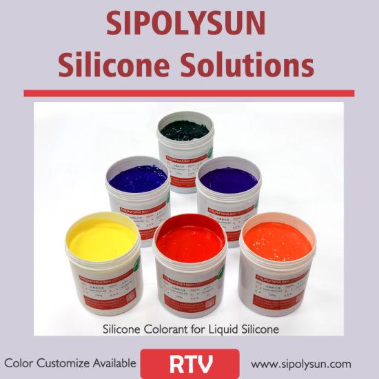 Silicone Pigments Liquid Silicone Colorant Silicone Cure Agents Factory Direct