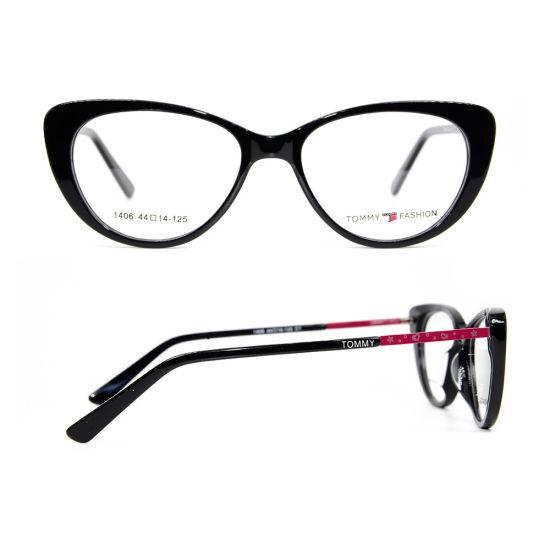 Acetate Frame China New Eyewear Glasses Wholesale Children Cat Eye Optical Frame
