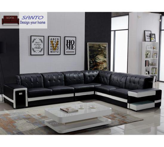 Corner Sofa With Light L Shape