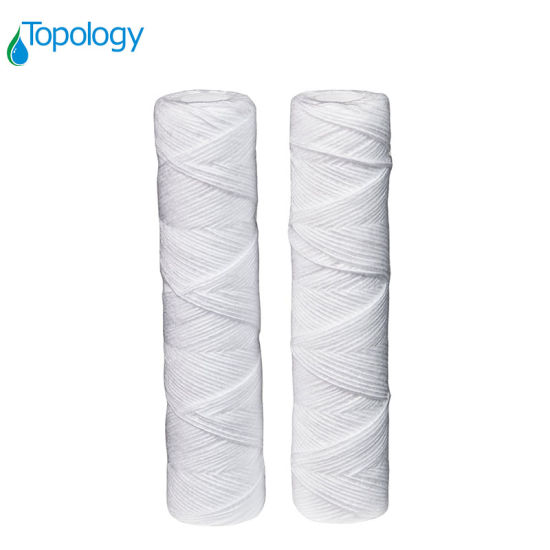 String Wound Water Treatment PP Yarn Pruifier Filter Cartridge