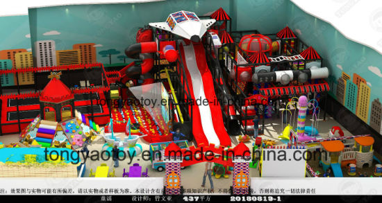 Plastic Equipment, Kids' Toys Indoor Playground (TY-181026)