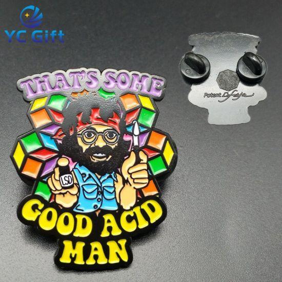 Professional Produce Hard Enamel Pin Badge with Art Design (BG79)