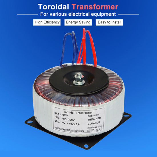 Best Price 200W Toroidal Transformer for Audio Amplifiers