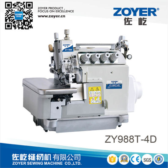 Zy988t-4D 4 Threads Overlock Machine with Variable Top Feed