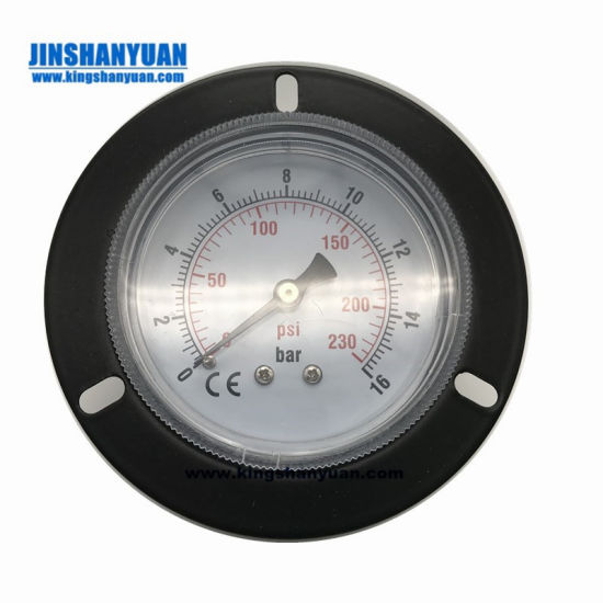 Bourdon Tire Pressure Gauge Checking Tools Rubber Protection