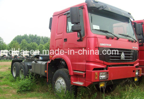 Cnhtc HOWO Tractor Truck 6X4 for Africa pictures & photos