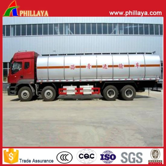 Heating Asphalt Tank Semi Trailer Bitumen Tanker pictures & photos