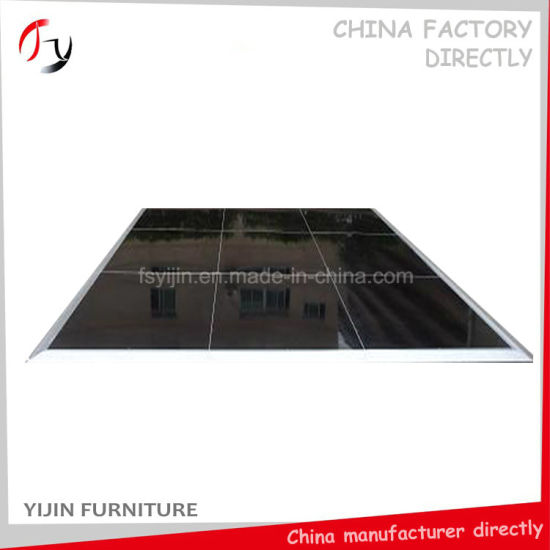 China Black Painting Plywood Durable Contemporary Dance Floor Price - Where to buy a dance floor