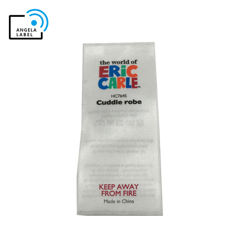 Personalized Custom Satin Wash Care Label Printing