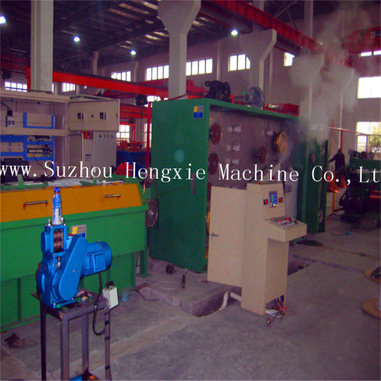 Wire Drawing Machine with Annealing (HXE-9DT) pictures & photos