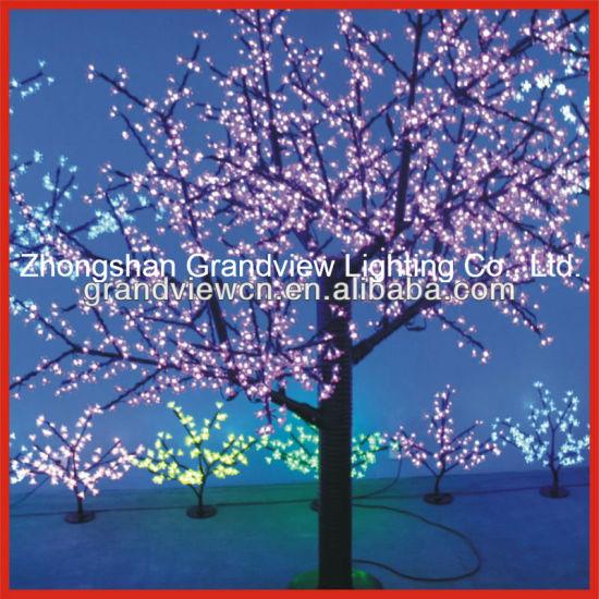 pink project led cherry tree lights decoration lights christmas lights outdoor lights street lights