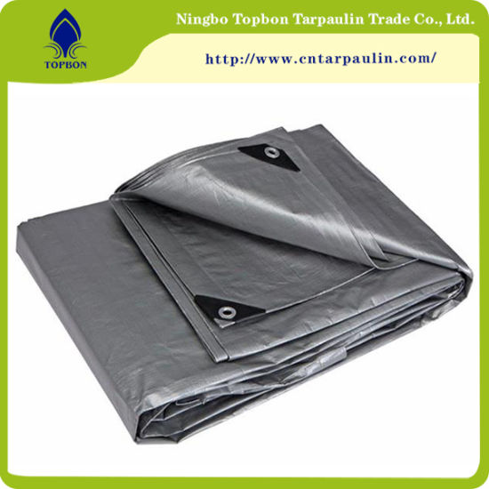 5bd8f594031b China 200GSM Silver Recycled Tarpaulin Waterproof Stretch Fabric ...