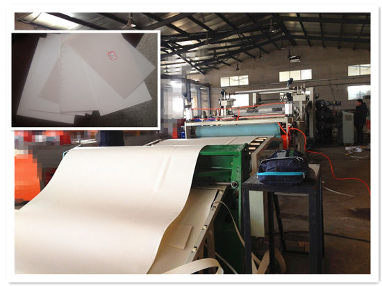 PP/PE/PS/PVC Plastic Sheet Extrusion Production Line pictures & photos