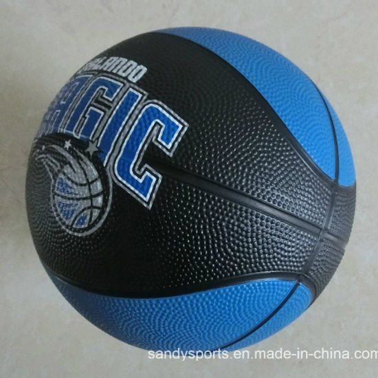 Manufacturer Hot Sell Mini Rubber Basketball pictures & photos