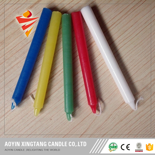 High Quality Palm Wax Multi-Color Candles pictures & photos
