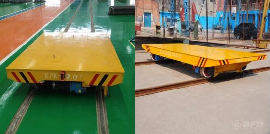 Battery Powered Transfer Carriage for Heavy Duty on Railway pictures & photos