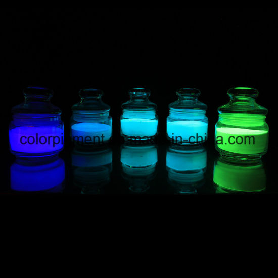 Yellow-Green Glow in The Dark Pigment pictures & photos
