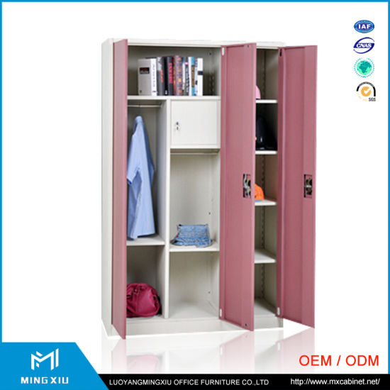 China Top Quality Factory Direct Sales 3 Door Almirah Design Cheap
