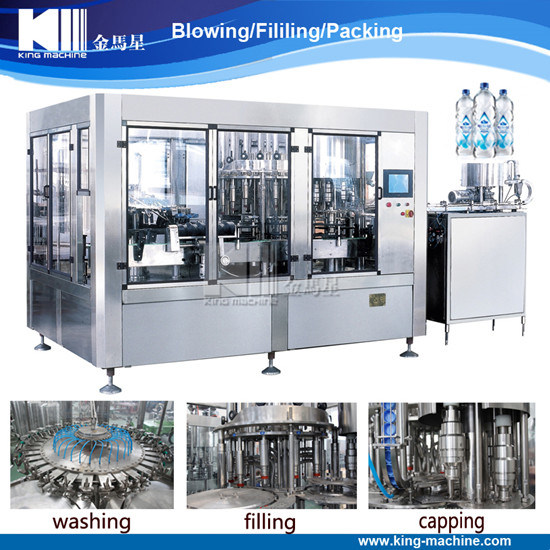 Automatic Pet Bottle Drinking Mineral Water Filling Machine