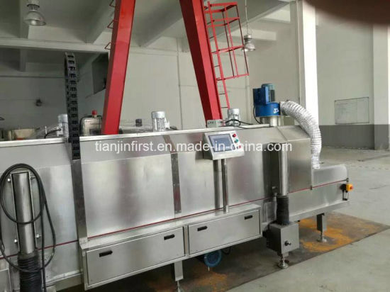 Shrimp Liquid Nitrogen Quick-Freezing/Cooling Machine pictures & photos