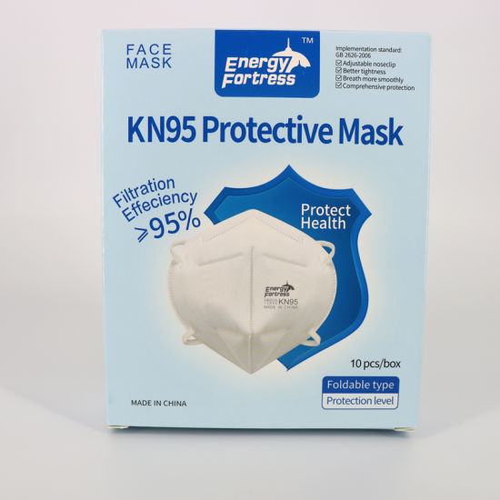 Hot Sale Disposable Earloop Face Mask 5ply Respirator KN95 Face Mask Supply