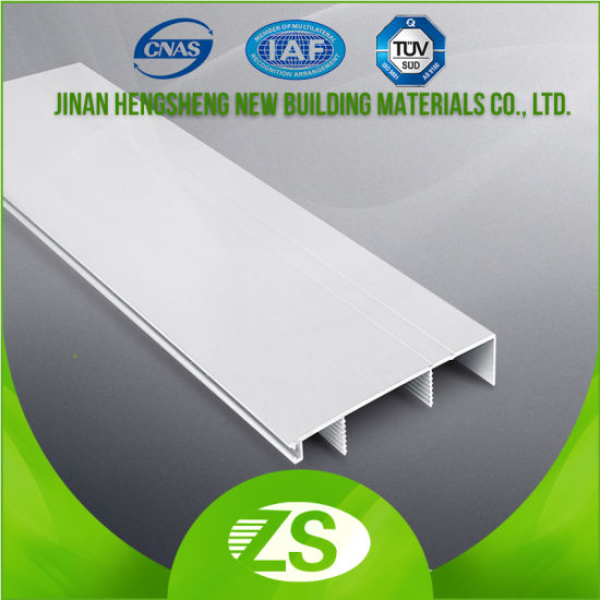 Top Quality Tile Floor Edge Trim Plinth PVC Skirting Board pictures & photos