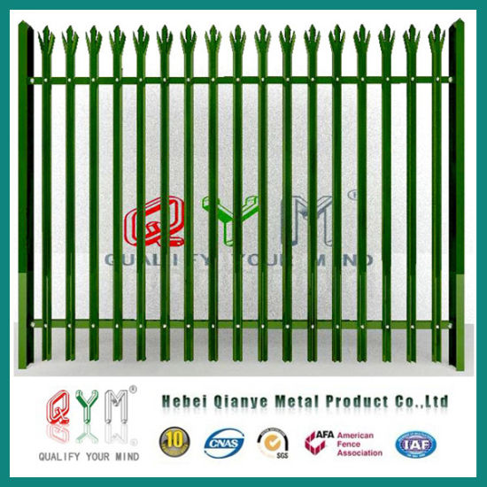 Palisade Fence/Galvanized Palisade Fence/Palisade Fence with Razor Wire pictures & photos