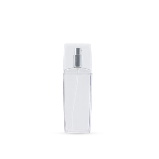 150ml as Customized Transparent Lotion Bottle Cosmetic Packaging Plastic Product.