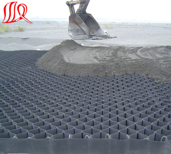 HDPE Geocell Used in Roadbed Construction pictures & photos