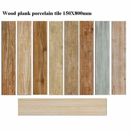 China 200X1000mm Natural Style Wood Grain Finish Porcelain Floor ...