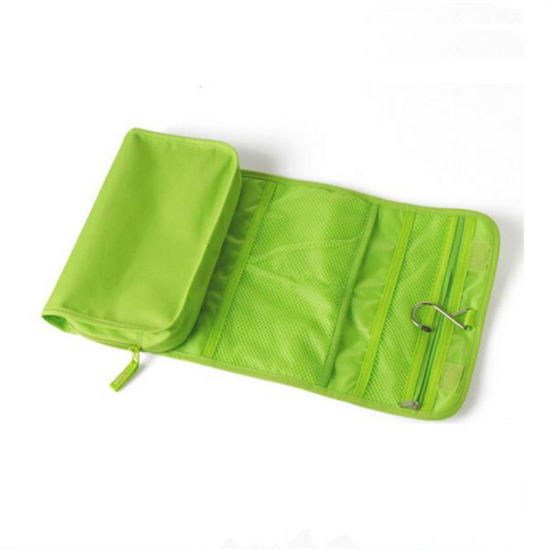 Simple Outdoor Travel Zipper Waterproof Foldable Shoe Storage Bag Hangable Bag W
