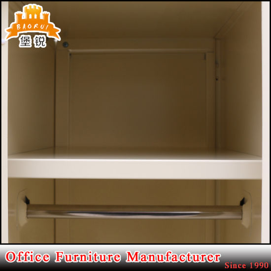 Modern Cheap Three Door Metal Clothes Cabinet pictures & photos