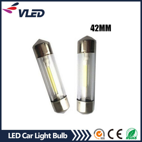 LED T10 Festoon Interior Readling Light Interior/License Plate LED Car Light Bulb 31mm 36mm 39mm 41mm pictures & photos