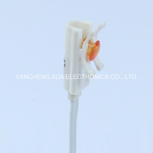10mm Plastic LED 24V LED Indicator Light Red Green Orange White pictures & photos