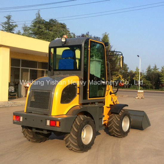 0.8ton Front Wheel Loader for Sale pictures & photos