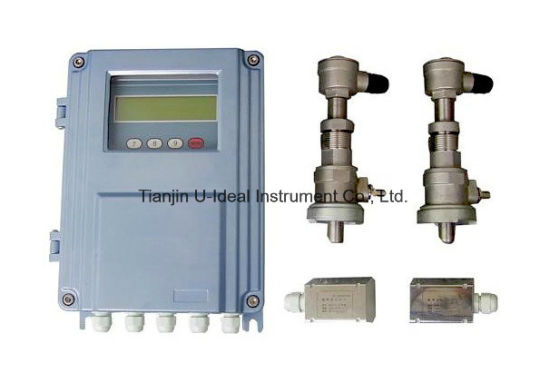 Non Contact/Portable/Handled/Wall-Mount/Water Ultrasonic Flow Meter pictures & photos