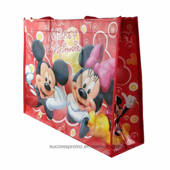 Recyclable Customized PP Woven Shopping Bag
