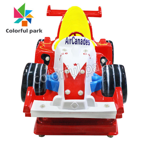 Colorful Park Kids Ride on Car Electric Toy Music Swing Children Kiddle Rider