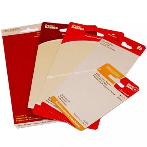 Paper Plastic Swing Ticket/ Label / Hangtag/ Hang Tag Supplier