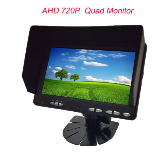 7inch Quad Split Car Rear View Backup Monitor
