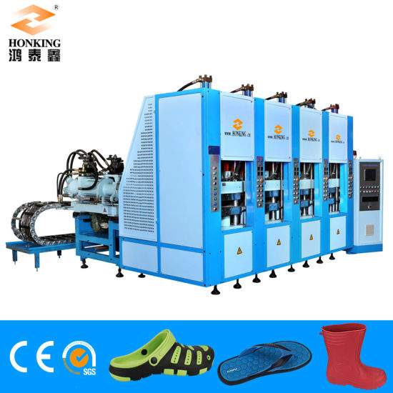 6 Station EVA Crocs /Garden Shoes Foaming Injection Machine pictures & photos