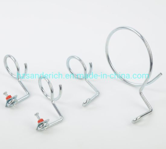1/4-20 Unc X 1.5 Inch Quick-Shot Bridle Ring Steel Zinc for Electrical Installation and Datacom & Telecom Applications