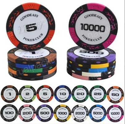 Hight Quality Custom Poker Jetton Gambling Jetton Poker Chip