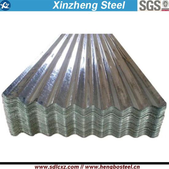 Sgch Regular Spangle Corrugated Galvanized Steel Roofing Sheet