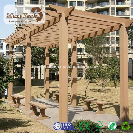 Foshan Wooden Sunshade In The Park Wpc Pergola Pictures Photos