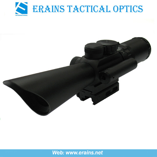 Compact 3.5-10x40 Rifle Scope Red Green Mil-DOT Reticle (M8) pictures & photos